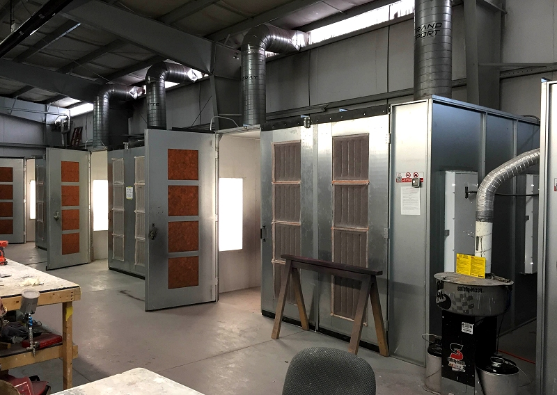 """RPI Designs Paint Booths """"The Real Deal"""""""