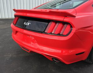 2015-2017 Ford Mustang (Coupe) Painted Stage 1 Rear Spoiler