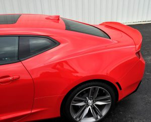 6th Generation Camaro Retro Style High Rise Rear Spoiler