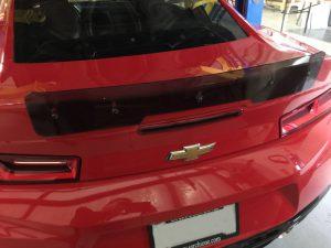 6th Generation Camaro Retro Style High Rise Rear Spoiler ...