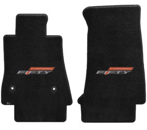 2016-2017 Camaro 6th Generation Lloyd Floor Mats FIFTY Logo