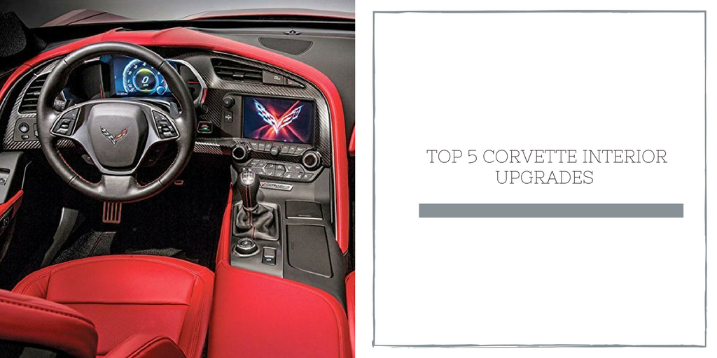 Top 5 Corvette Interior Upgrades