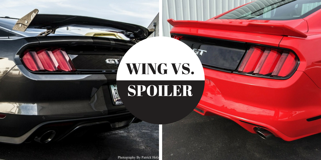 Spoiler Or Wing Do It Yourself Mustang Upgrades Rpi Designs