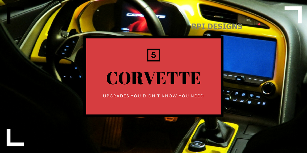 corvette upgrades