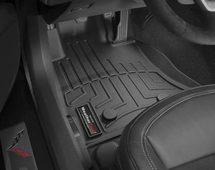 Corvette Weathertech Floor Liners