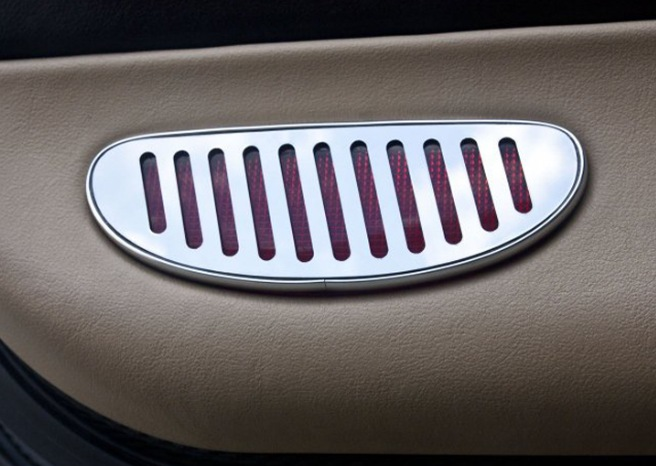 1997-2004 C5 Corvette Door Reflector Bezels