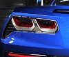 C7 Corvette Tail Light Bezels Trim w/C7 Logo