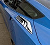 C7 Corvette 10pc Rear Quarter Panel Vent Set