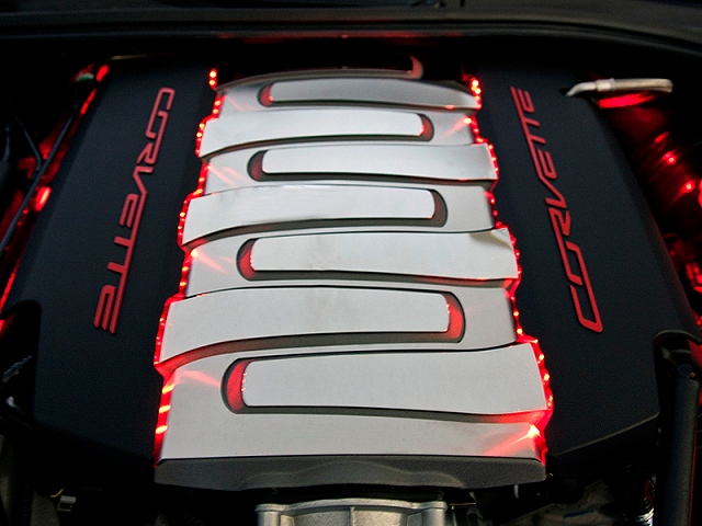 2014 2018 C7 Corvette Fuel Rails Lighting Kit Led