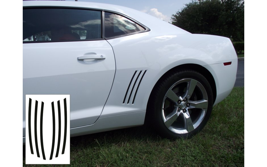 2010-2015 Camaro Side Body Vent Decal Accents