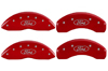 1999-2003 Ford F-150 MGP Caliper Covers Red/Silver