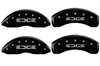 2007-2010 Ford Edge MGP Caliper Covers Black