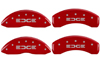 2007-2010 Ford Edge MGP Caliper Covers Red