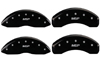 2006-2012 Ford Fusion MGP Caliper Covers Black