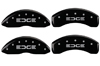 2011-2013 Ford Edge MGP Caliper Covers Black