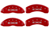 2011-2013 Ford Edge MGP Caliper Covers Red