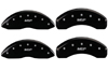 2011-2014 Ford Edge MGP Caliper Covers Black