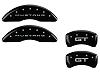 2015-2019 Ford Mustang GT MGP Caliper Covers Black