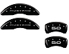 2015-2019 Ford Mustang 5.0 MGP Caliper Covers Black