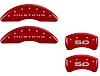 2015-2019 Ford Mustang 5.0 MGP Caliper Covers Red