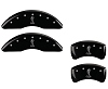 2015-2019 Ford Mustang SNAKE MGP Caliper Covers Black