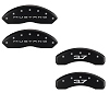 2015-2019 Ford Mustang V6 3.7L Caliper Covers Matte Black