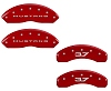 2015-2019 Ford Mustang V6 3.7L Caliper Covers Red