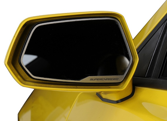2010 2015 Camaro Side View Mirror With Supercharged
