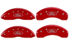 2013 Ford Fusion MGP Caliper Covers Red