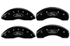 2013 Ford C-Max MGP Caliper Covers Black/Silver