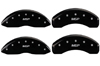 1998-2011 Ford Ranger MGP Caliper Covers Black/Silver