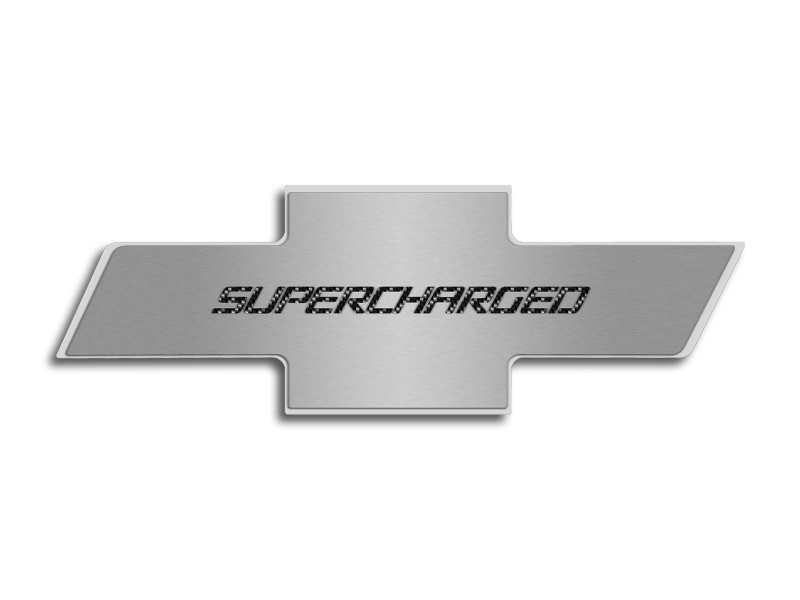 2010-2013 Camaro Hood Badge Emblem Insert Supercharged ZL1