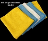 RPI'S Ultra-Fine Microfiber Polishing Towels -5pk Kit
