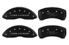 2009-2010 Dodge Challenger MGP Caliper Covers Bl