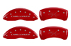 2009-2010 Dodge Challenger MGP Caliper Covers Red