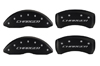 2009-2010 Dodge Charger MGP Caliper Covers Black