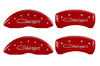 2009-2010 Dodge Charger MGP Caliper Covers Red