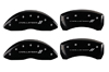 2009-2010 Dodge Challenger II MGP Caliper Covers Black