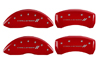 2009-2010 Dodge Challenger II MGP Caliper Covers Red