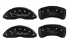 2009-2010 Dodge Challenger MGP Caliper Covers Black