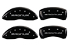 2005-2008 Dodge Magnum MGP Caliper Covers Black