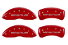 2005-2008 Dodge Magnum MGP Caliper Covers Red