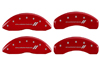 2007-2009 Dodge Durango MGP Caliper Covers Red