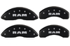 2006-2010 Dodge Ram MGP Caliper Covers Black