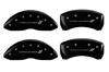 2008-2011 Dodge Challenger II MGP Caliper Covers Black