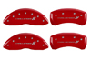 2006-2011 Dodge Challenger II MGP Caliper Covers Red