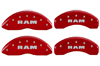 2002-2005 Dodge Ram MGP Caliper Covers Red