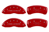 2011-2013 Dodge Challenger MGP Caliper Covers Red