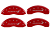 2009-2014 Dodge Journey II MGP Caliper Covers Red