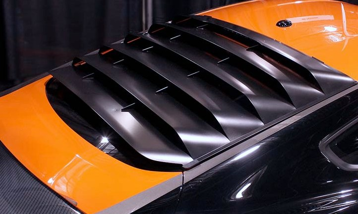 6Th Gen Camaro >> Ford Mustang MRT Rear Window Louvers - RPIDesigns.com